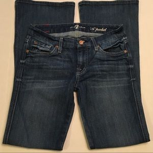 7 for all mankind A Pocket Jeans Size 25